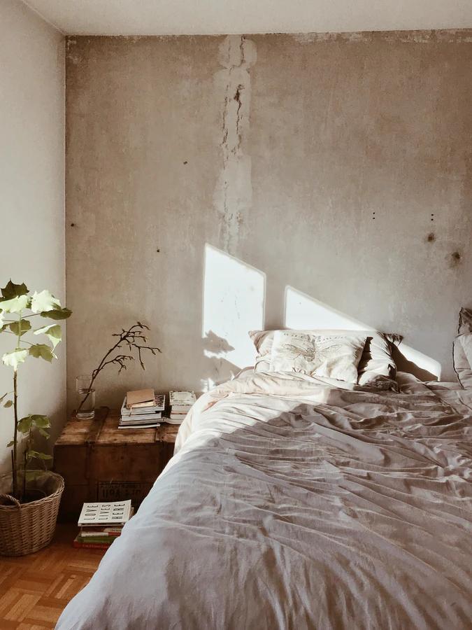 Nostalgische gevoelens bij je oude bed